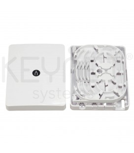FTTh indoor box 2ports with splicing tray