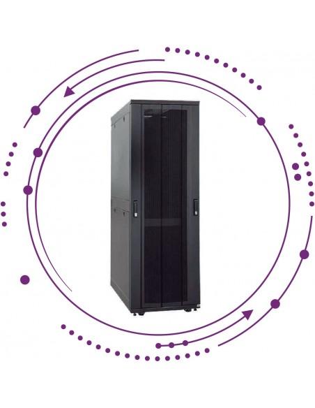 """Armarios rack 19"""" carga 1050Kg -uso servidores-"""