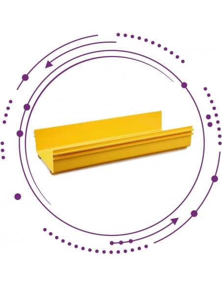 Canaletas Plásticas para fibra en CPDS