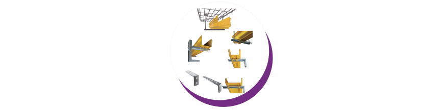 Data centre fiber cable tray accesories