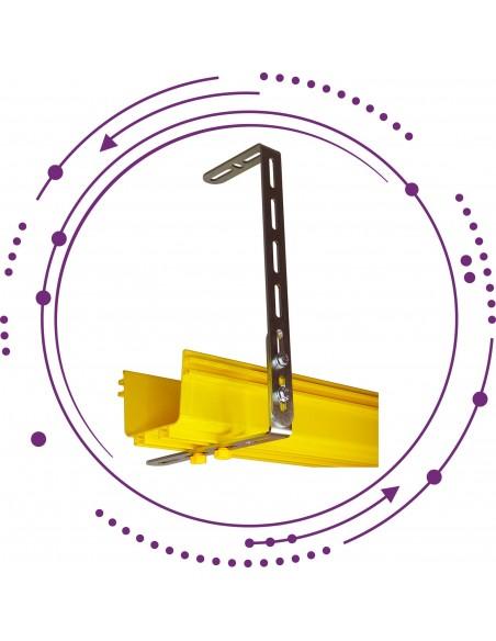 Data centre fiber cable tray accesories