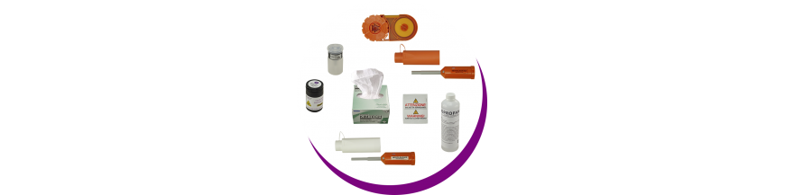 Optical fiber consumables/Cleaning