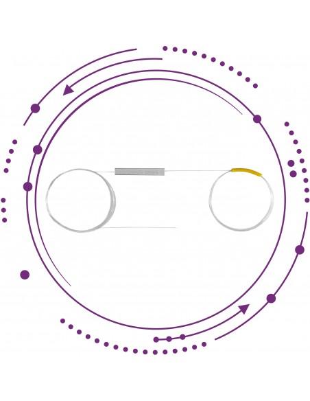 Repartidores PLC mini fibra 250um sin conectores