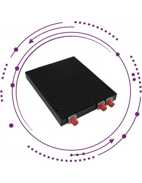Repartidores PLC en caja metálica pared con puertos FC/PC