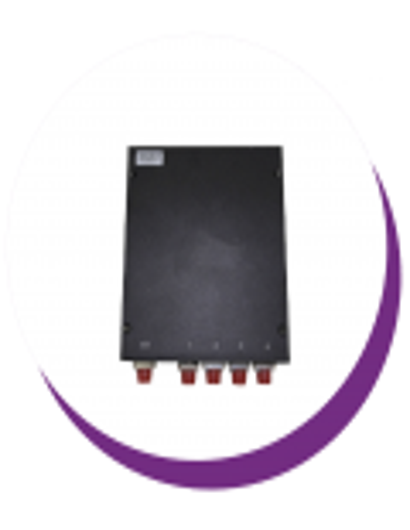 Derivadores/taps PLC en caja metálica pared con puertos FC/PC