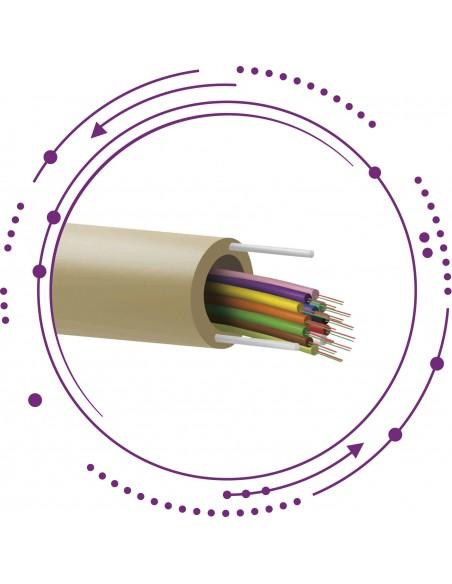 F11-Cable fibra SM riser alta segregación -Interior-