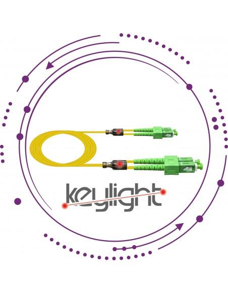 Latiguillos/Patchcords ''Keylight'' SC Duplex
