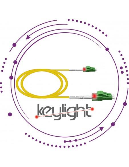 Latiguillos/Patchcords ''Keylight'' LC Duplex SM G657A2