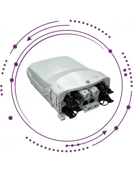 Cajas distribución conector IP tipo K para acometida exterior